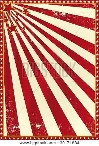 Circus poster. A background for your advertising