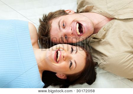 Young Couple Sharing A Moment Together