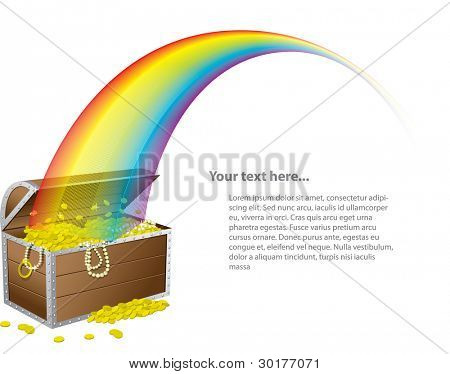 St. Patrick's treasure chest