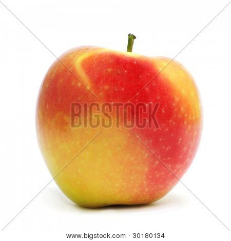 closeup of some delicous and fresh red apple