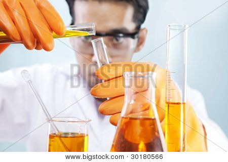 Chemical Lab Research