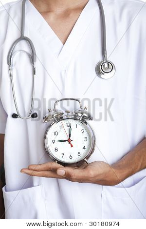 Doctor With An Alarm Clock
