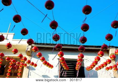 Chinese Festival House Deco
