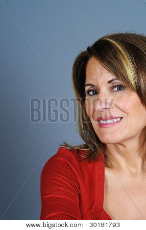 Portrait Of Casual Woman