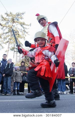 Carnival in Velika Gorica - Topics Asterix and Obelix 3
