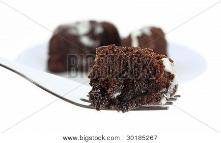 Bite Of Chocolate Lava Cake