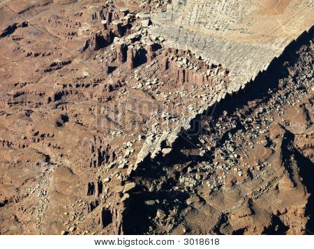Rocky Utah Landscape.