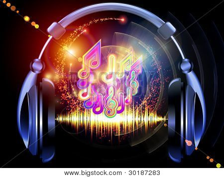 Music Over Headphones