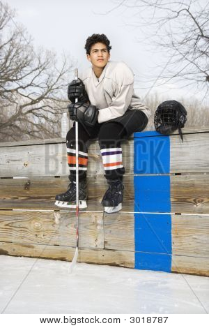 Hockey Player Boy.