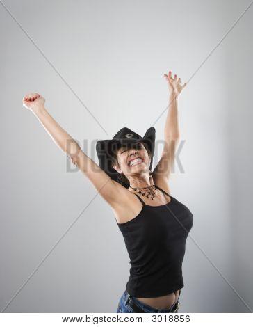 Happy Woman.
