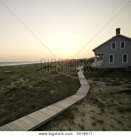 Casa de playa.