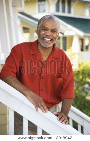 Happy Smiling Man.