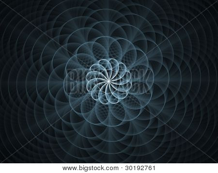 Topological Line Background
