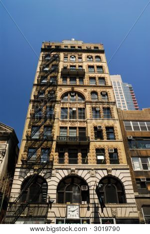 Art Deco Style Building In New York