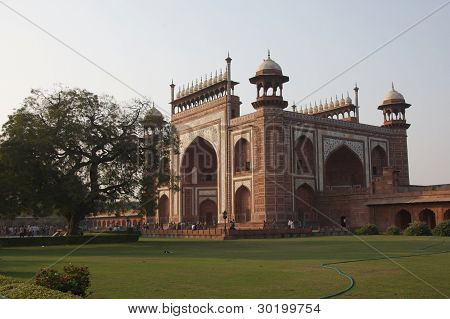 The Great Gate to Taj Mahal, India