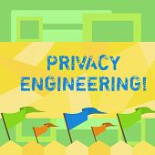 Handwriting Text Writing Privacy Engineering. Concept Meaning Engineered Systems Provide Acceptable  poster