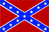 foto of confederate flag  - Vector illustration of the Confederate Flag of America - JPG