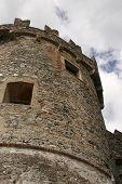 Medieval Castle In Levanto poster