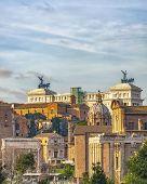 The Vittorio Emanuele Ii Monument, Also Known As The Vittoriano, Il Vittoriano, Or Altare Della Patr poster
