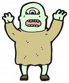 stock photo of ogre  - cartoon ogre - JPG