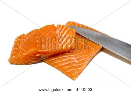 Filetieren Lachs