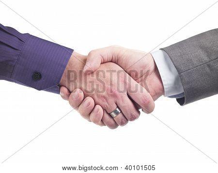 Doctor Shaking Hands