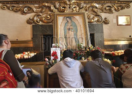 Adoration Of The Virgin
