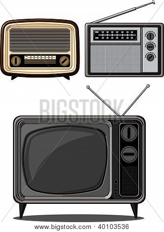 Retro Television And Radio