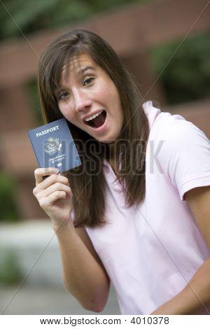 Excited Traveler