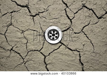 Water Drain In Dry Soil