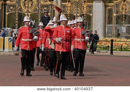 Changing of Queen's Guards