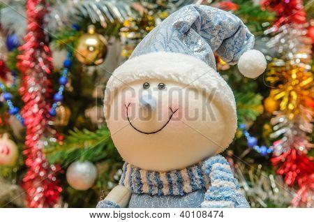 El divertido muñeco de nieve