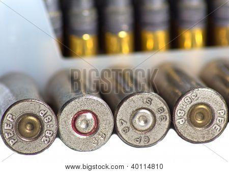 Conchas de bala Closeup