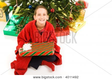 Christmas Boy Isolated