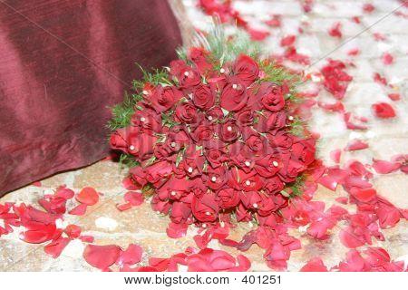 Red Flower Bouquet 2