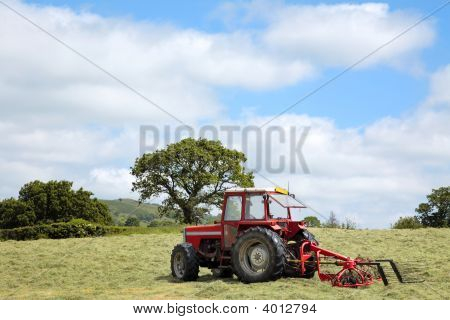 Hay Making Tractor
