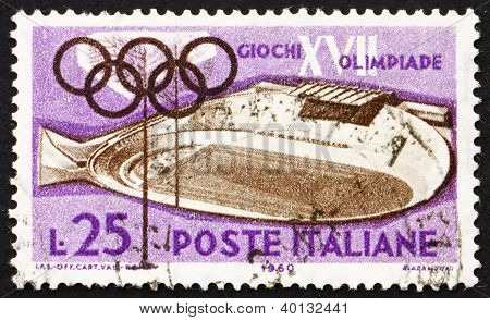 Postage Stamp Italy 1960 Velodrome, Rome