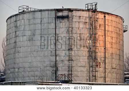 Industrial Oil Tank