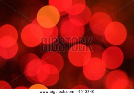 Fondo de luces de Navidad. Defocused imagen de