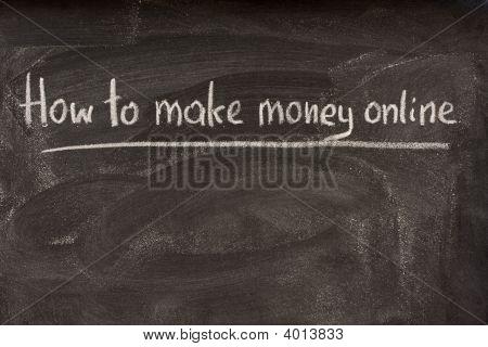wie man online Geld