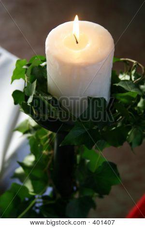 Burning Candle 1