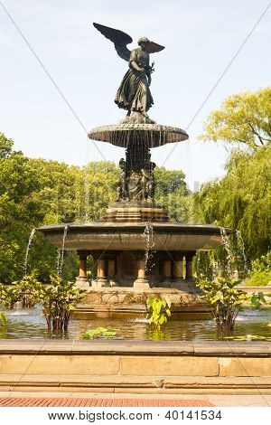 Bethesda Fountain, Central Park, New York