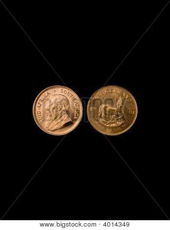 Gold Krugerrand Coins