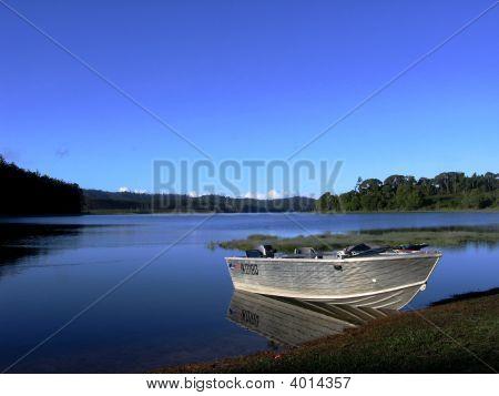 Boat Tinaroo Blue Sky