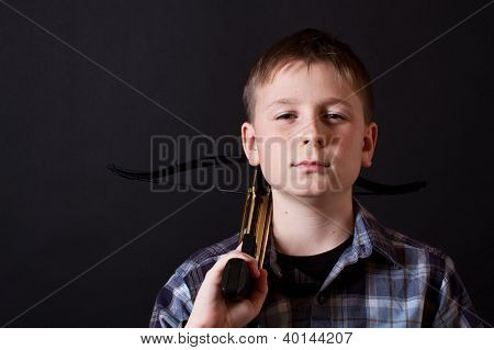 child With A Crossbow