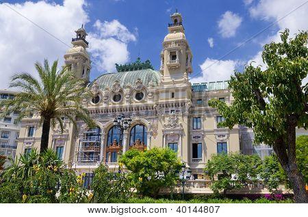 Opera House At Monaco