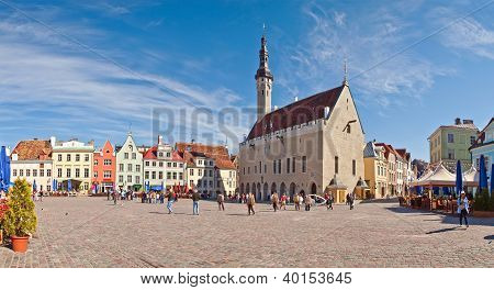 Tallinn Town Hall and Square, Estonia