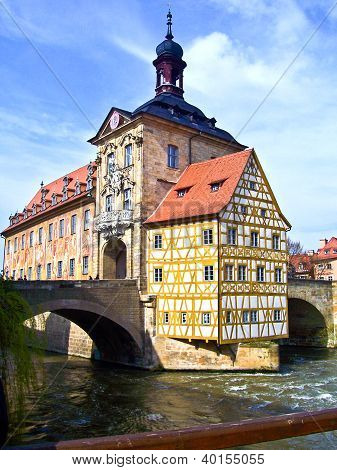 In The Old Town Of Bamberg