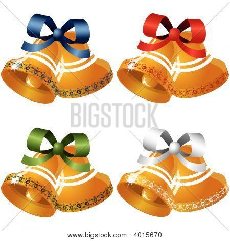 Set Of Four  Bells