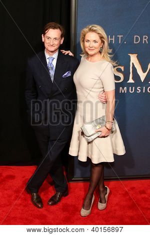 "NEW YORK-DEC 10: Hanish Bowles and Cornelia Guest attend the premiere of ""Les Miserables"" at the Ziegfeld Theatre on December 10, 2012 in New York City."